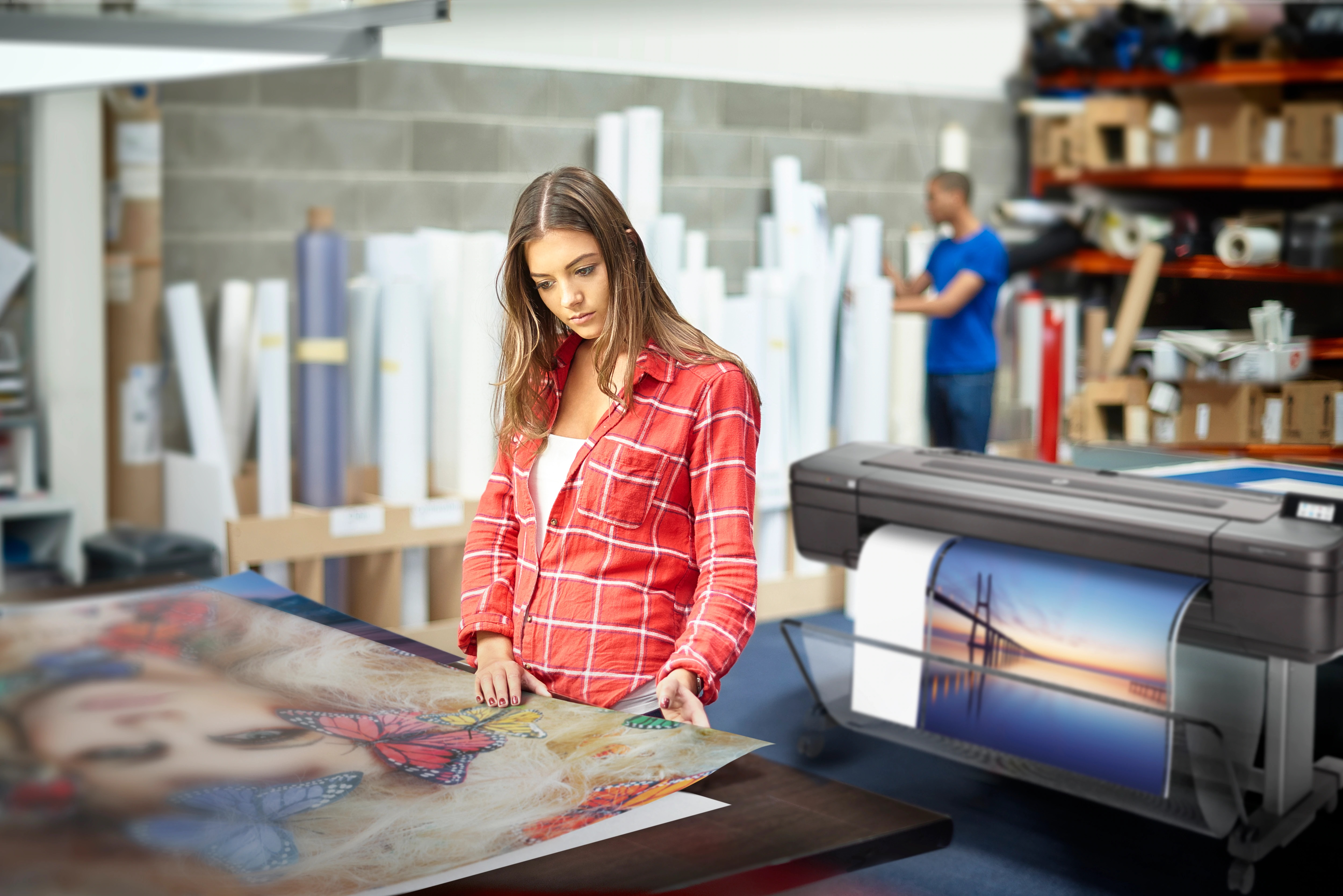 Plotter Hp 2019 a rate senza interessi