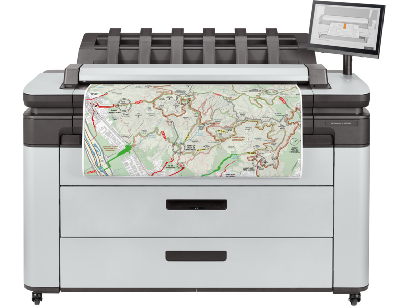 Plotter Hp multifunzione